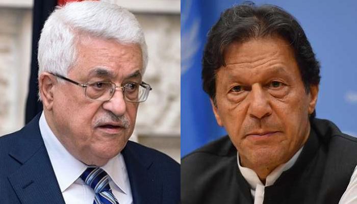 وزیراعظم عمران خان کا فلسطینی صدر محمود عباس سے ٹیلیفونک رابطہ