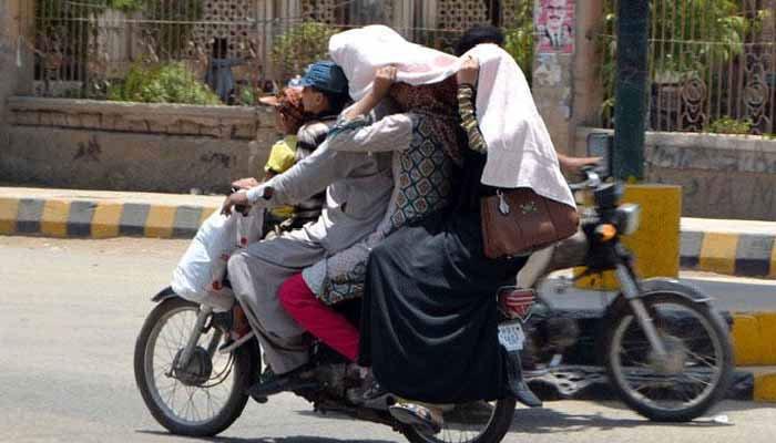 کراچی کا موسم گرم اور مرطوب رہنے کا امکان