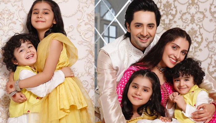 عائزہ خان کی پیاری عیدی اور چھوٹی چھوٹی خوشیاں