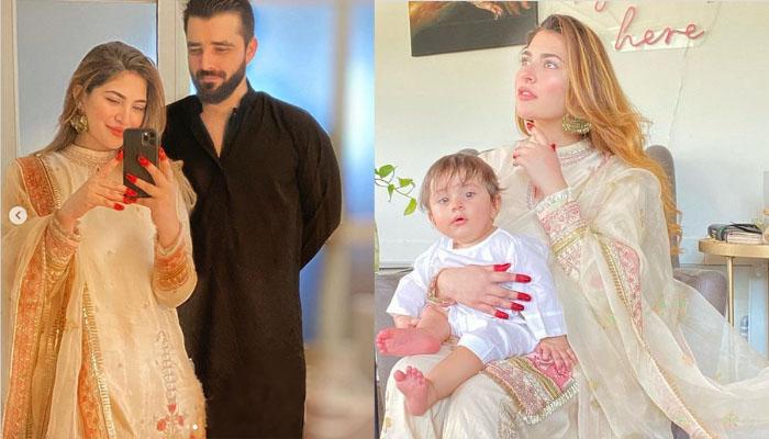 حمزہ عباسی فیملی عید پر کیسی لگ رہی تھی؟