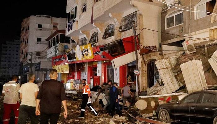عید پر بھی اسرائیلی گولہ باری، شہید فلسطینیوں کی تعداد 132 ہوگئی