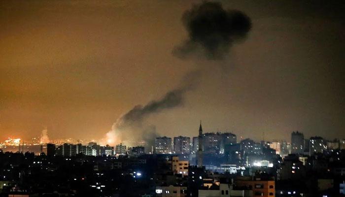غزہ، اسرائیلی فوج کا فضائی حملہ، مزید 8 فلسطینی شہید