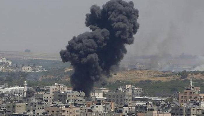 حماس کی غزہ پر اسرائیلی فضائی حملےکی مذمت
