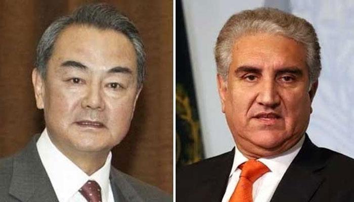 وزیر خارجہ کا چین کے ہم منصب سے ٹیلی فون پر رابطہ