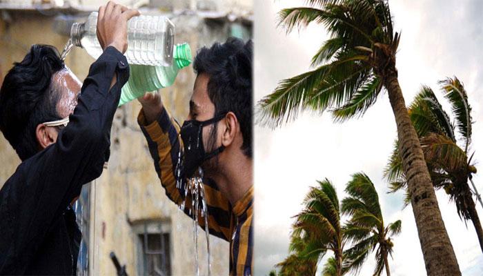 کراچی: تیز ہوائیں، پارہ 42 ڈگری چڑھ سکتا ہے