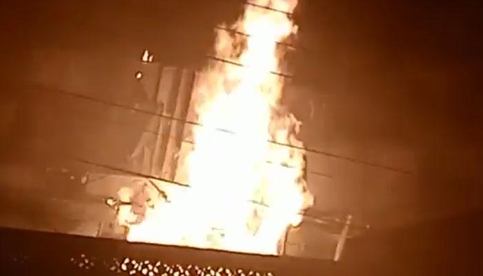ملتان :گیس سلنڈر کی دکان میں آتشزدگی، 2 ملازم زخمی