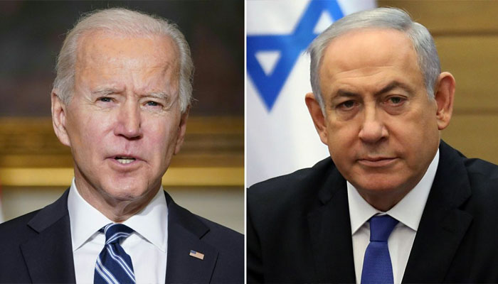 جوبائیڈن کا اسرائیلی وزیراعظم سے ٹیلیفونک رابطہ
