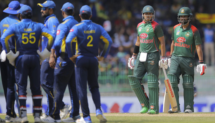سری لنکن کرکٹ ٹیم بنگلادیش پہنچ گئی