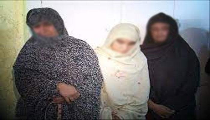حافظ آباد: 3 بھکاری ڈکیت خواتین گرفتار