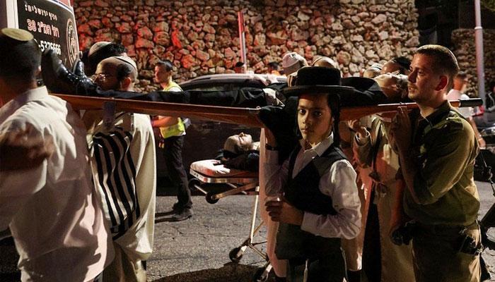 اسرائیل، یہودی عبادت گاہ کی نشستیں گرنے سے 60 افراد زخمی