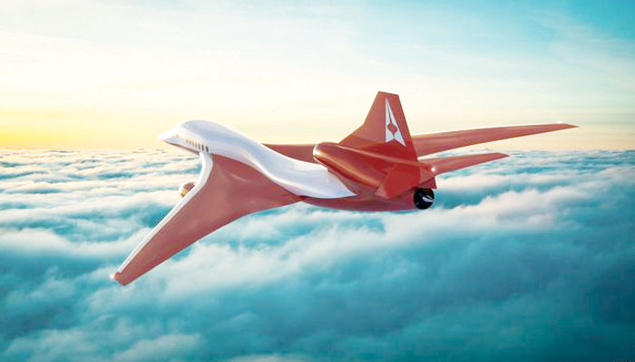 آواز کی رفتار سے چار گنا زیادہ تیز طیارہ