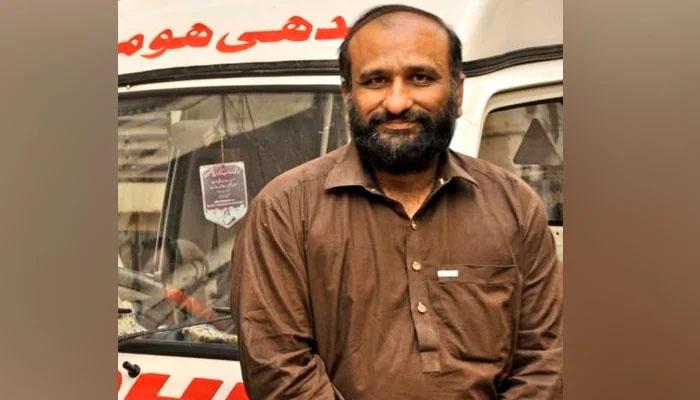 فیصل ایدھی نے فلسطین جانے کیلئے ویزے کی درخواست جمع کرادی