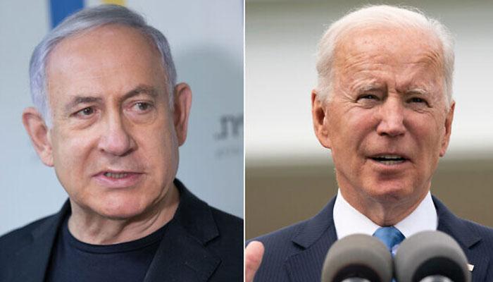 امریکی صدر اور اسرائیلی وزیراعظم کے درمیان ٹیلیفونک رابطہ
