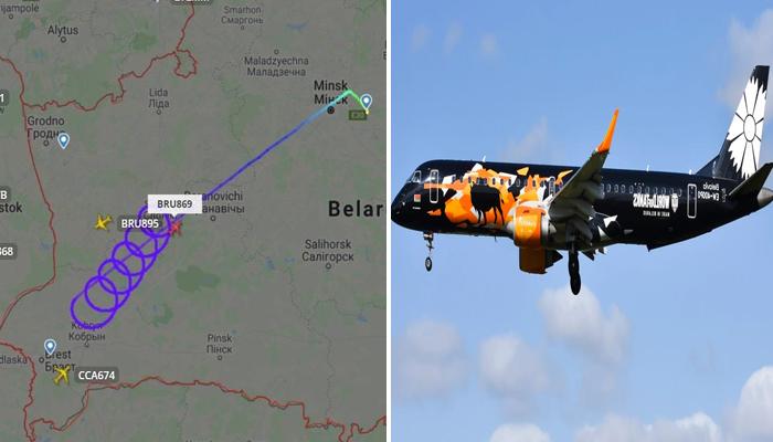 بیلاروس سے بارسلونا کی پرواز کو2 گھنٹے بعد واپس منسک اتار لیا گیا