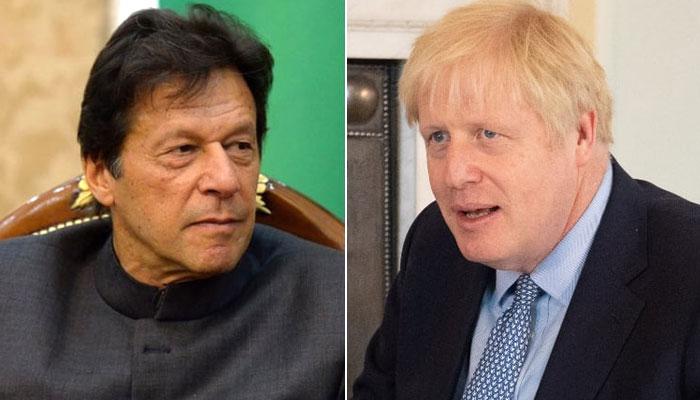 بورس جانسن کا شجر کاری منصوبوں پر عمران خان کو سلیوٹ