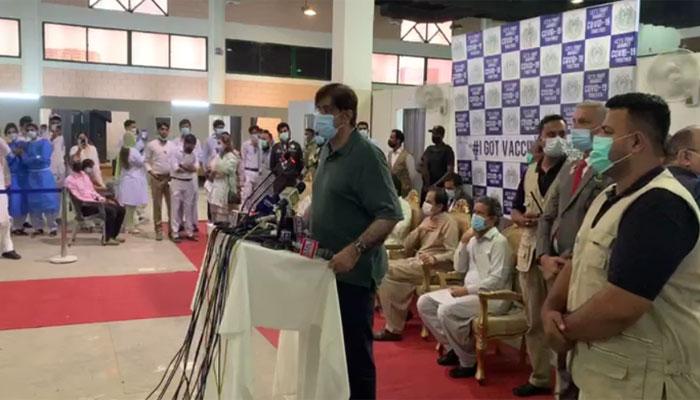 ایکسپو سینٹر کراچی میں ایک اور ویکسی نیشن ہال کا افتتاح