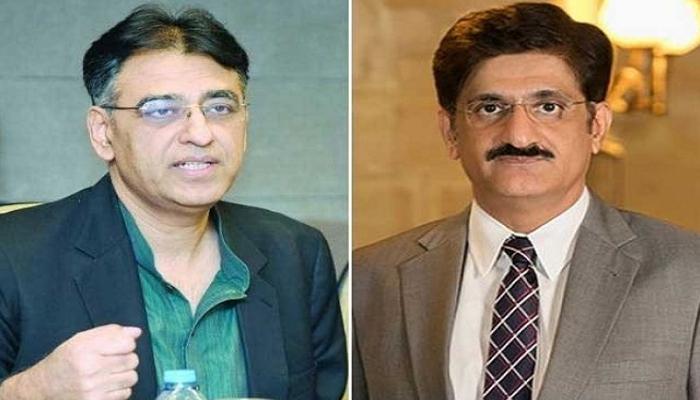 وزیراعلیٰ سندھ اور وفاقی وزیر آمنے سامنے آگئے