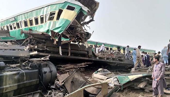 گھوٹکی ٹرین حادثہ، جاں بحق ، زخمیوں کیلئے معاوضے کا اعلان