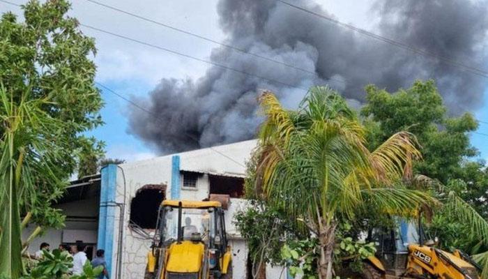 بھارت : فیکٹری میں آتشزدگی سے 18 افراد ہلاک