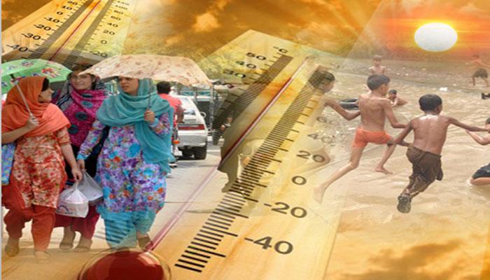 لاہور میں شدید گرمی کی لہر جاری