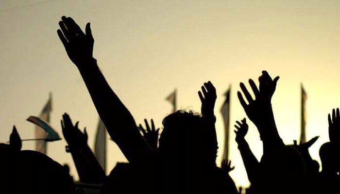 کراچی: بلدیاتی اداروں کے ملازمین کا پریس کلب پر احتجاجی مظاہرہ