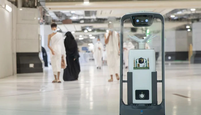 Hired 10 more robots in Masjid-ul-Haram
