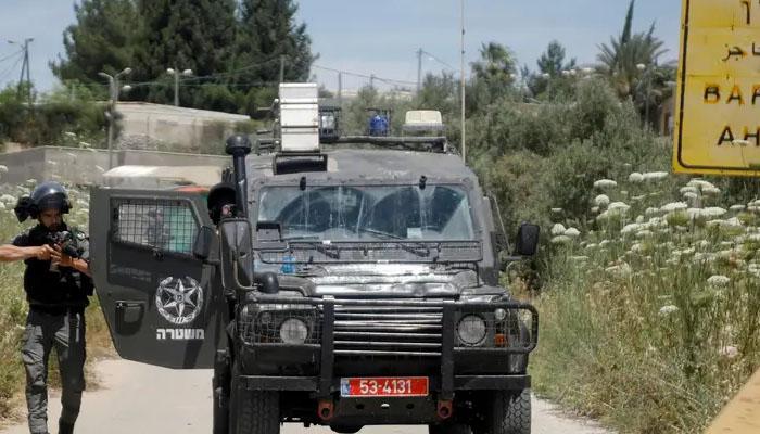اسرائیلی فوج کی فائرنگ سے دوسکیورٹی اہلکاروں سمیت 3 فلسطینی جاں بحق