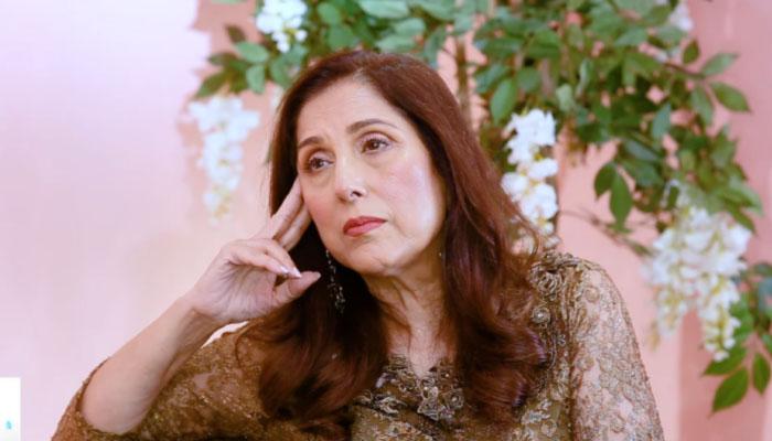 ثمینہ پیرزادہ بھی فرہاد ہمایوں کے انتقال پر غمزدہ