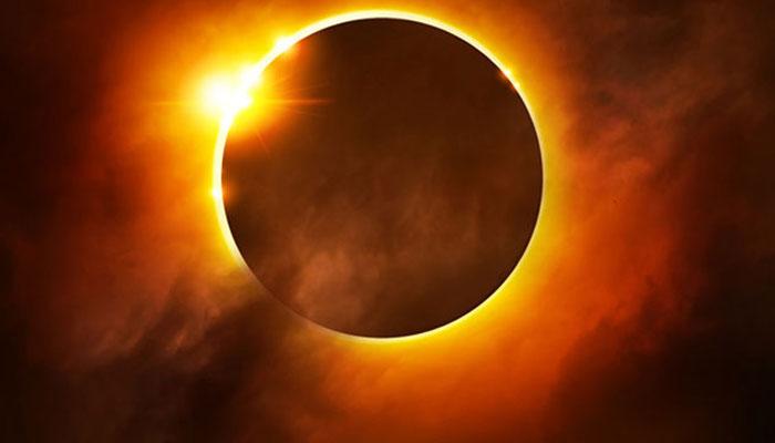 2021 کے پہلے سورج گرہن کا آغاز