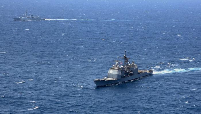 امریکی بحریہ کے جہاز کا پاکستان کا دورہ