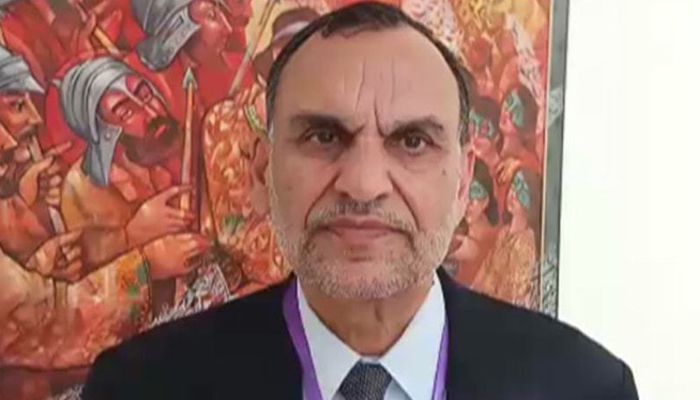 Azam Swati, I and railway officials are responsible for the train accident
