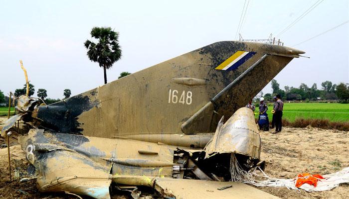 میانمار: فوجی طیارہ گرکرتباہ ہوگیا، 12 افراد جاں بحق