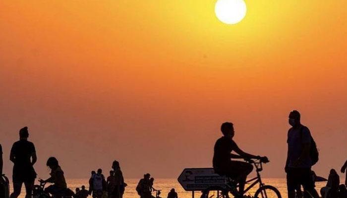 متحد ہ عرب امارات میں شدیدگرمی ، شہری پریشان