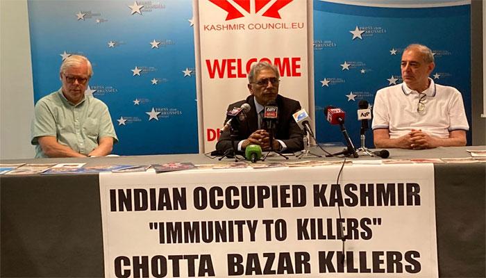 بھارت کو مقبوضہ کشمیر کی علاقائی حیثیت اور ڈیموگرافی تبدیل کرنے سے روکا جائے، کشمیر کونسل ای یو