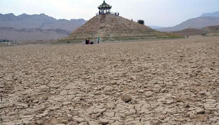 کوئٹہ: نواحی علاقے ہنہ میں واقع جھیل خشک ہوگئی
