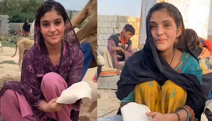 پاکستانی لڑکی کی سادگی کے بھارت میں بھی چرچے