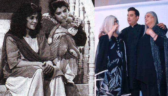 مرینہ خان اور شہناز شیخ 35 برس بعد ساتھ نظر آئیں گی