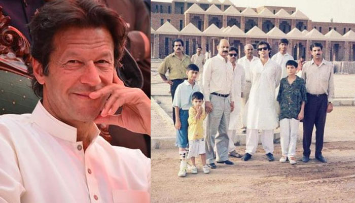 عمران خان نے شوکت خانم اسپتال کی 29 سال پُرانی یاد تازہ کردی