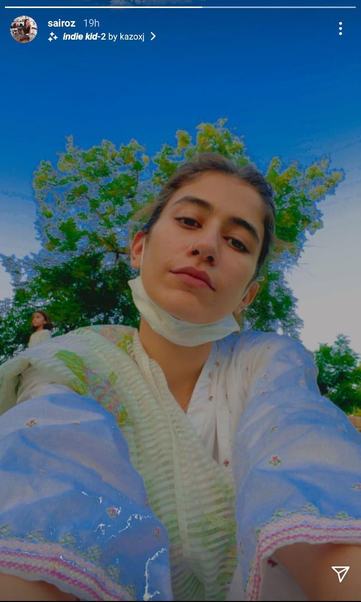سائرہ یوسف کی سادگی بھری نئی سیلفی مقبول