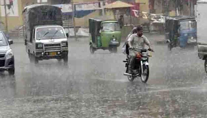 پاکستان میں 27 سے 30 جون کے دوران بارشیں متوقع