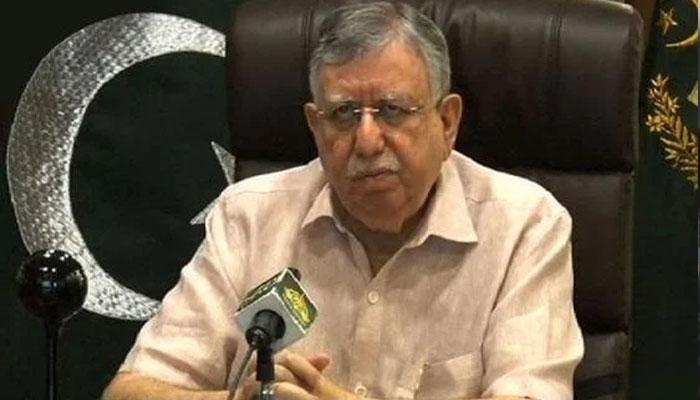 وزیرِ خزانہ شوکت ترین کی پوسٹ بجٹ پریس کانفرنس