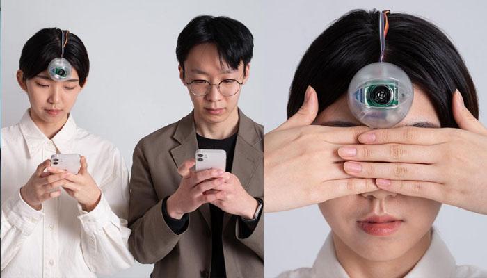 اسمارٹ فون استعمال کرنے والوں کیلئے تیسری آنکھ تیار