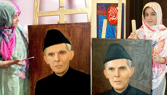 بانی پاکستان کی پینٹنگ بنانا بہت مشکل ہے: رابی پیرزادہ