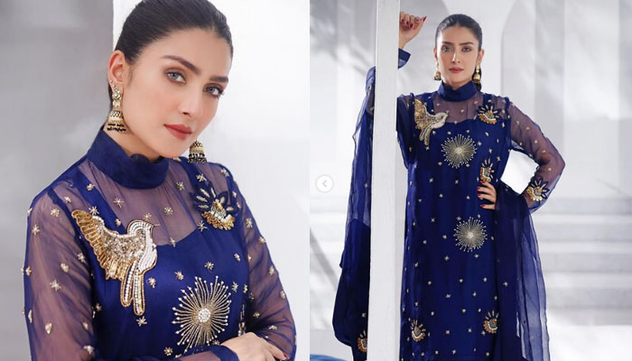 Aiza Khan was very happy for the big Eid