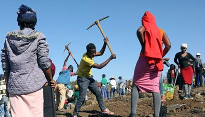 جنوبی افریقہ :کھدائی کے دوران بیش قیمت ہیرے ملنے کا دعوی