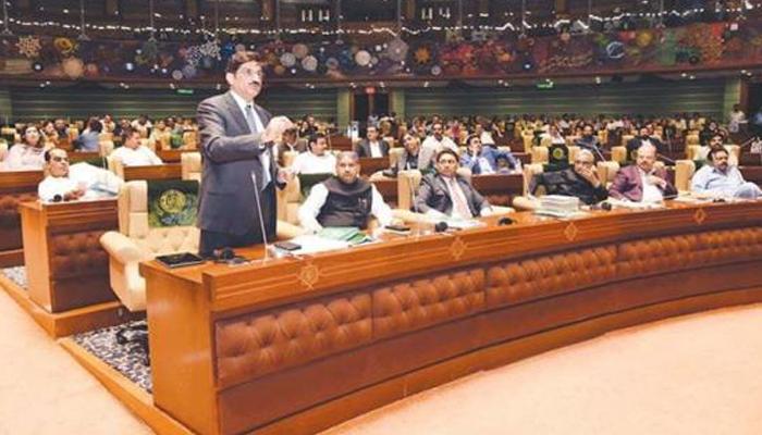 اپوزیشن کے شور شرابے میں سندھ کا بجٹ پیش