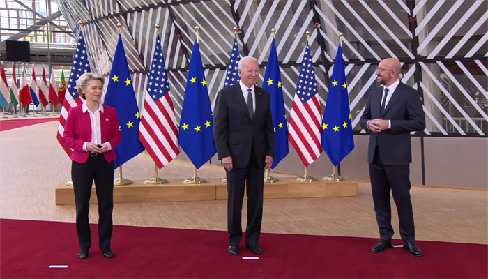 یورپی یونین، امریکا سمٹ، فریقین کا مشترکہ ایجنڈا تیار کرنے اور گفتگو کا فیصلہ