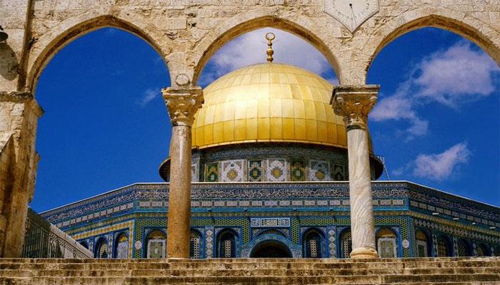 بیت المقدس میں انتہاپسند یہودیوں کی ریلی، اسرائیلی فورسز موجود