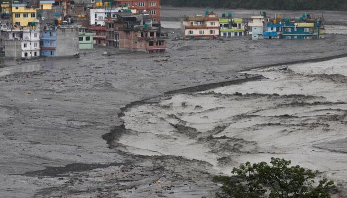 بھوٹان ، شدید بارش اور سیلاب سے تباہی، 10افراد ہلاک