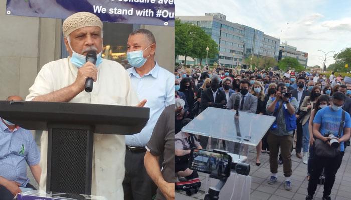 کینیڈا میں شہید پاکستانی خاندان کی یاد میں تعزیتی جلسہ